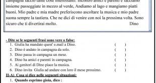 اللغة الايطالية - الامتحان التعليمى-11